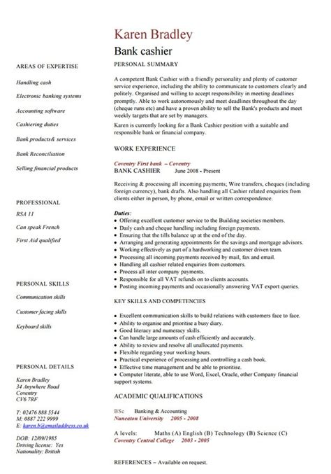 Bank Resume Template by 18 Best Banking Sle Resume Templates Wisestep
