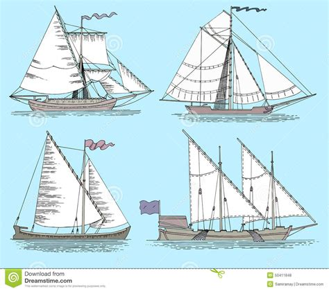 old boat blue book vintage fishing boats stock vector image of ancient