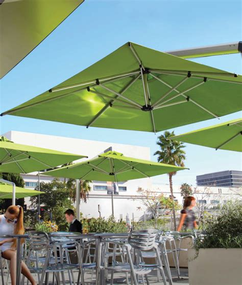 Backyard Creations Cantilever Umbrella Commercial Cantilever Umbrella Outdoor Patio Cantilever