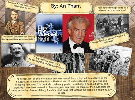 by elie wiesel book report 2015 an pha book reports elie wiesel en