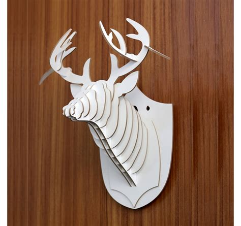Trophy Decorations by Deer Animal Trophy Decoration Artwall And Co