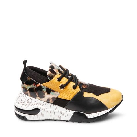 Steve Madden Cliff Sneakers by Steve Madden Cliff Sneaker Yellow Multi