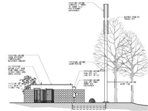 design brief of a cell phone tower cell phone tower approved for viewpoint by parks and rec