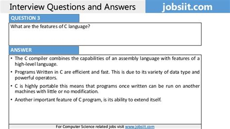Mba Comprehensive Questions And Answers by Top 80 C Language Questions And Answers