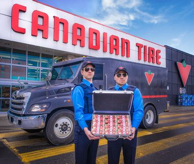 cnw canadian tire   quintessentially canadian bills  modern treatment