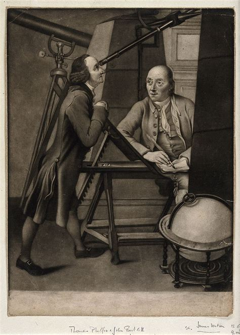 Astronomer Description by File Astronomy Two Large Observatory Telescopes With Astronomer Wellcome V0024837 Jpg