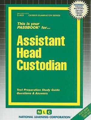 book box assistant custodian test preparation