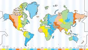 interactive time zone map negocios internacionales