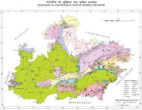 mineral map mineral map of madhya pradesh