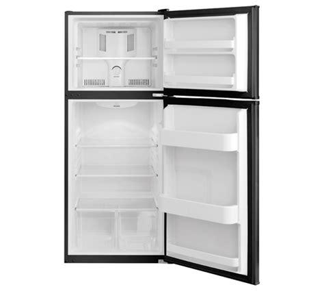 frigidaire 12 cu ft top freezer apartment size