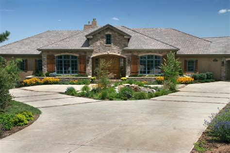 Backyard Concrete Ideas Driveway Layout Options Landscaping Network