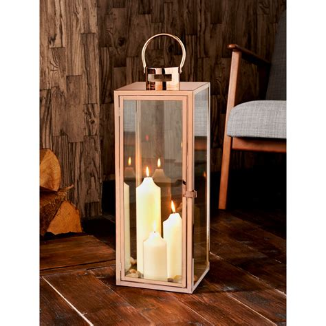 home decor uk copper lantern home home decor b m