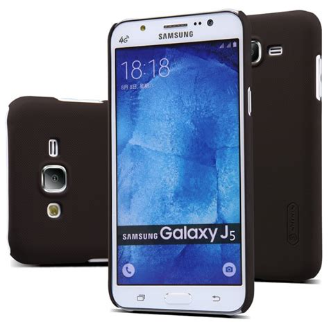 Nillkin Frosted Samsung Galaxy J5 Black nillkin frosted tok samsung galaxy j5 2016 j510f