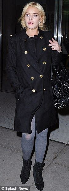 Beware Nyc Lohan Has Arrived by Lindsay Lohan Makes The Most Of The New York Nightlife But