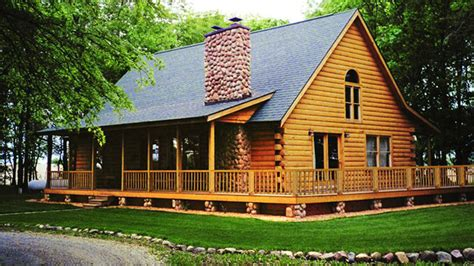 log home design plan and kits for
