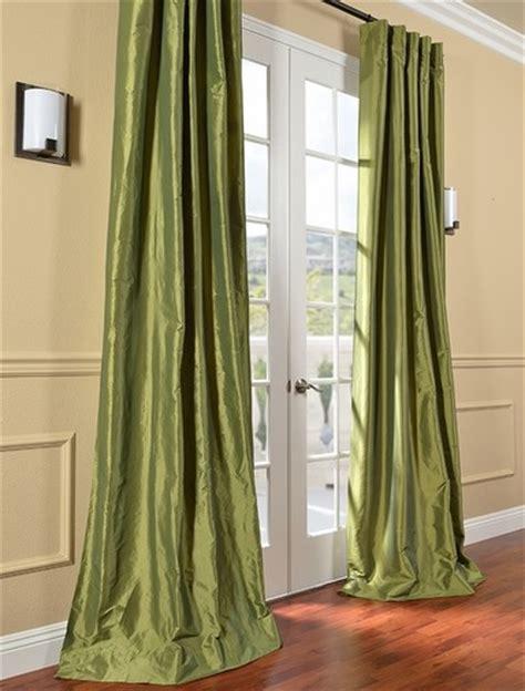 hpd drapes hpd s exclusive fern faux solid taffeta silk curtains