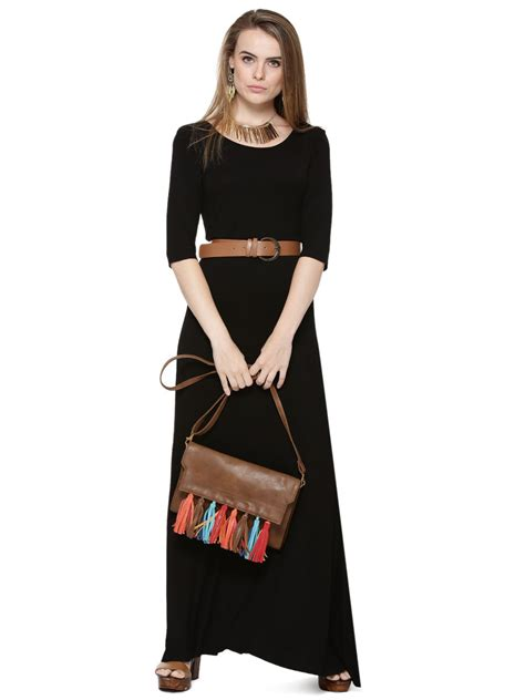 buy femella jersey maxi dress with belt for