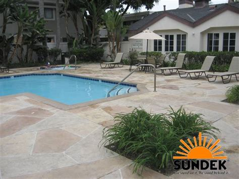 sundek decorative concrete solutions concreteideas