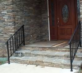 metal exterior handrails for stairs metal exterior handrails for stairs a more decor