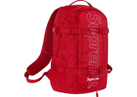 supreme backpack supreme backpack fw18 stockx news