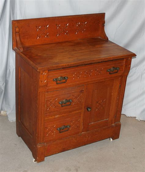 commode antique bargain s antiques antique oak wash stand commode