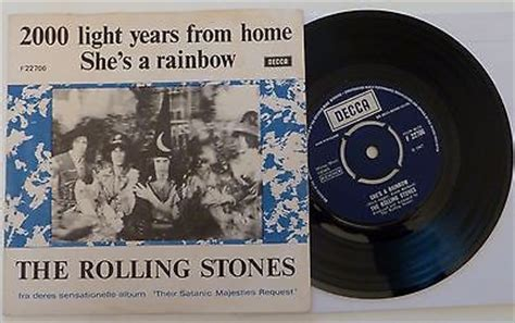 popsike 7 quot the rolling stones 2000 light years from