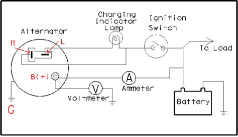 wiring diagram how to wire a alternator wiring diagram