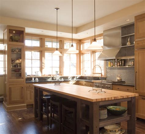 butcher block island kitchen beach with eat in kitchen