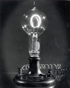 Invented The Light Bulb by Light Bulb Edison Light Bulbs Manufacturing Ls