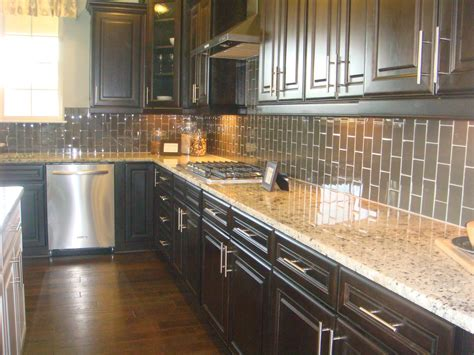 buy kitchen backsplash espresso kitchens kitchen loving the vertical