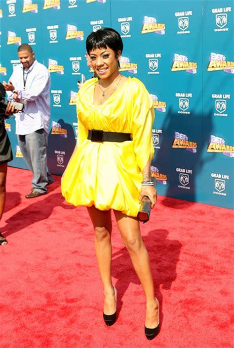 Keshia Dress Yellow keyshia cole s dress at bet awards hair photos