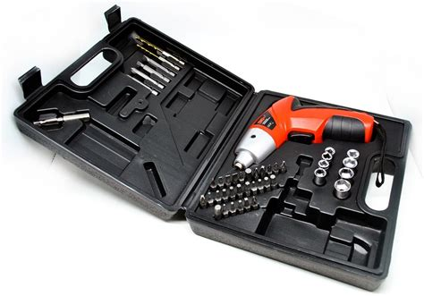 cordless multi function electric screwdriver set 4 8v 45pcs jakartanotebook