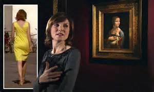 fiona bruces bottom subject  da vinci documentary