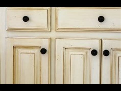 Antique White Distressed Cabinets Roselawnlutheran How To Distress White Kitchen Cabinets