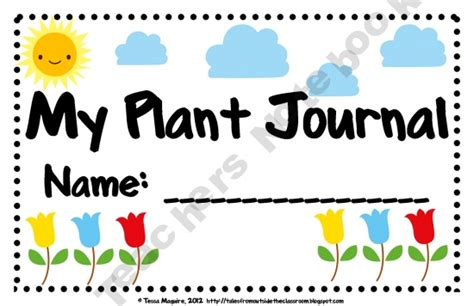 printable plant observation journal 1000 images about plant flower unit on pinterest
