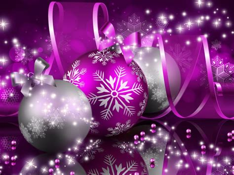 merry christmas purple decorations  wallpaper  wallpaperscom