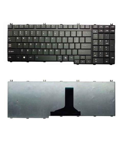 Keyboard Laptop Toshiba L755 fugen laptop keyboard pad original look for