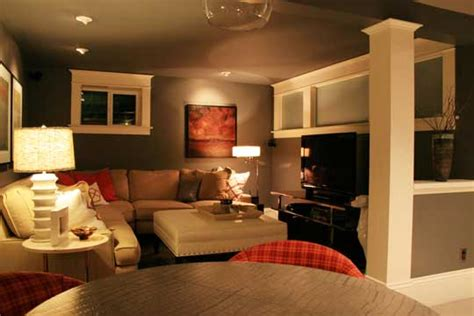 Finished Small Basement Ideas Cozy Basement On Pinterest Basement Finishing Finished Basement Designs And Basement Remodeling