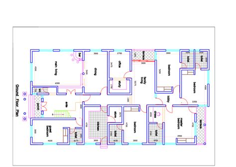 Architecture Floor Plans by Architectural Drawings Floor Plans And 57638981 Plan