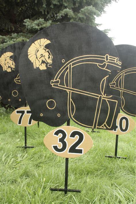 25 Unique School Yard Signs Ideas On Pinterest High School Time Table High School Graduation Football Yard Sign Template