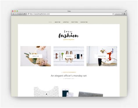 theme blog love the ultimate collection of the top minimalist wordpress