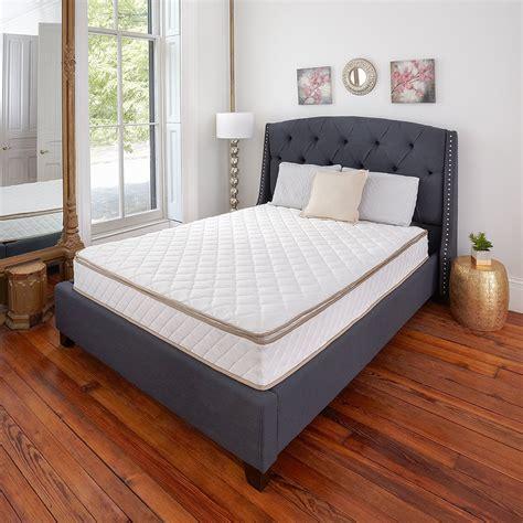 classic pillow top innerspring 10 inch mattress rochester overstock