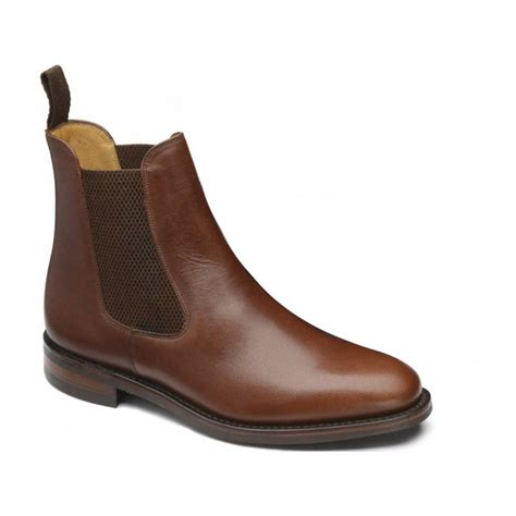 mens brown chelsea boots uk loake loake blenheim chelsea brown n86 mens boots