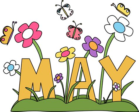 May Clipart month of may flowers clip month of may flowers image