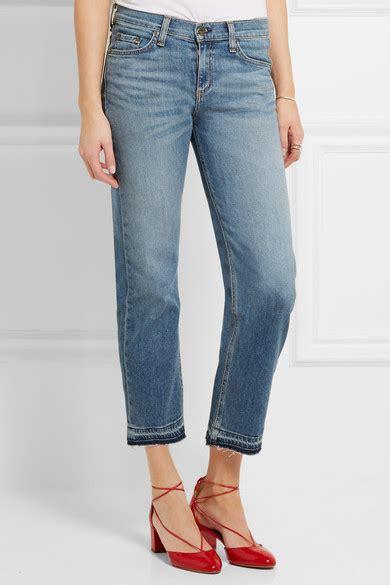rag bone cropped mid rise straight leg jeans net