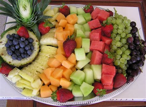 fruit platter ideas neesie natters fresh fruit platter