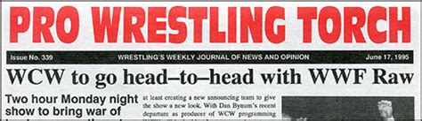 A Torch Against The Bonus Bookmark pwtorch vip pwtorch newsletter back issue 339 pdf text 20 yrs ago wcw announces