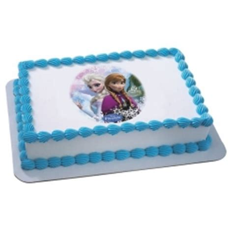 Disney Frozen Cakes   Birthday Cake from Frozen Movie with Elsa, Anna, and Olaf