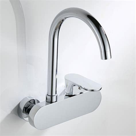 rubinetto cucina a muro sanlingo miscelatore rubinetto monocomando per lavello