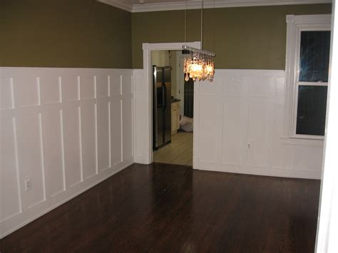 Wainscoting In Dining Room with Capitol Hill Christensens Wainscoting Dining Room Complete